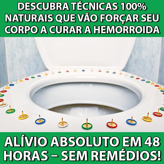 tratamento natural hemorroida