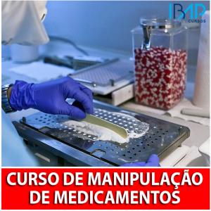 curso de manipulação de medicamentos
