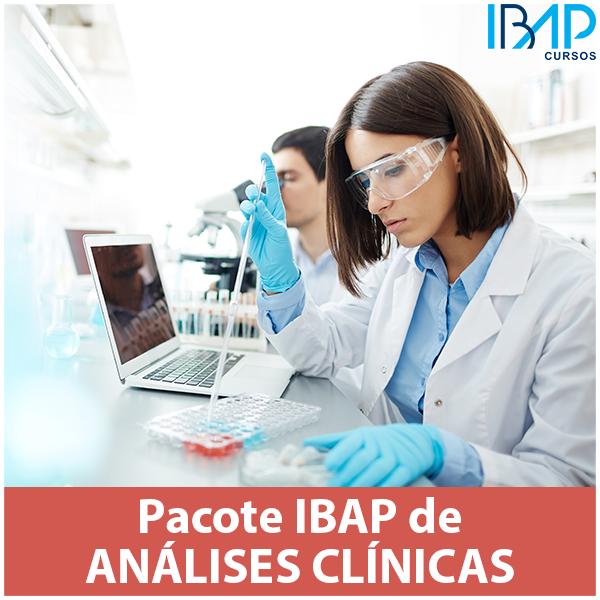 pacote de análises clínicas capacitação