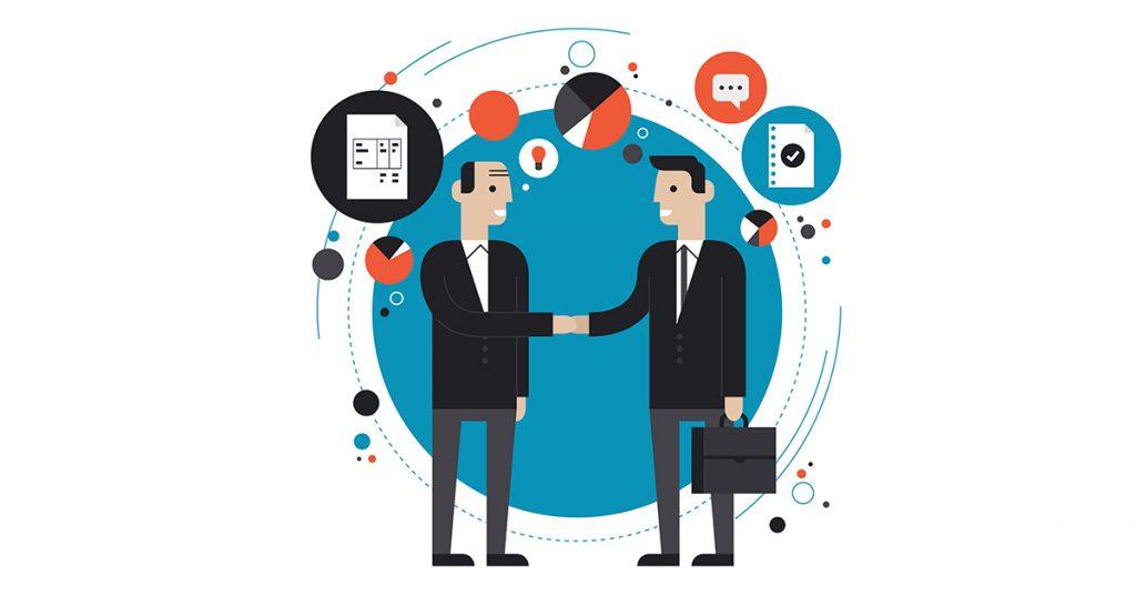 parcerias conexões dezenas de currículos entrevista de emprego