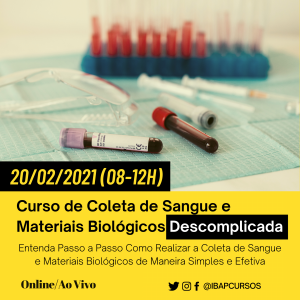 Curso de Coleta de Sangue e Materiais Biológicos Descomplicada